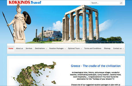 "Kokkinos Travelwww.kokkinos-travel.grThe ""Kokkinos Travel"" agency has been operating since 1992 and successfully cooperates with the german, Austrian and Swiss market. The company is an official member of HATTA (Hellenic Association of Travel Agencies) and was founded by Mr. Panos Kokkinos...Read more..."